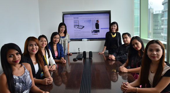 Synergix People - Marketing Team ERP system singapore