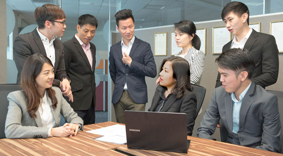 Synergix People - Professional Services ERP system singapore