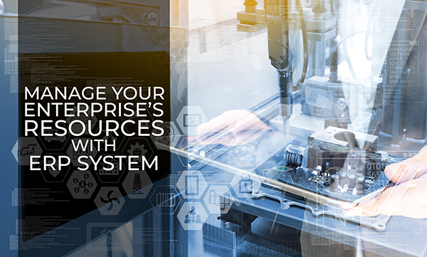 MANAGE YOUR RESOURCE - Digital Solutions for Managing Your Enterprise's Resources