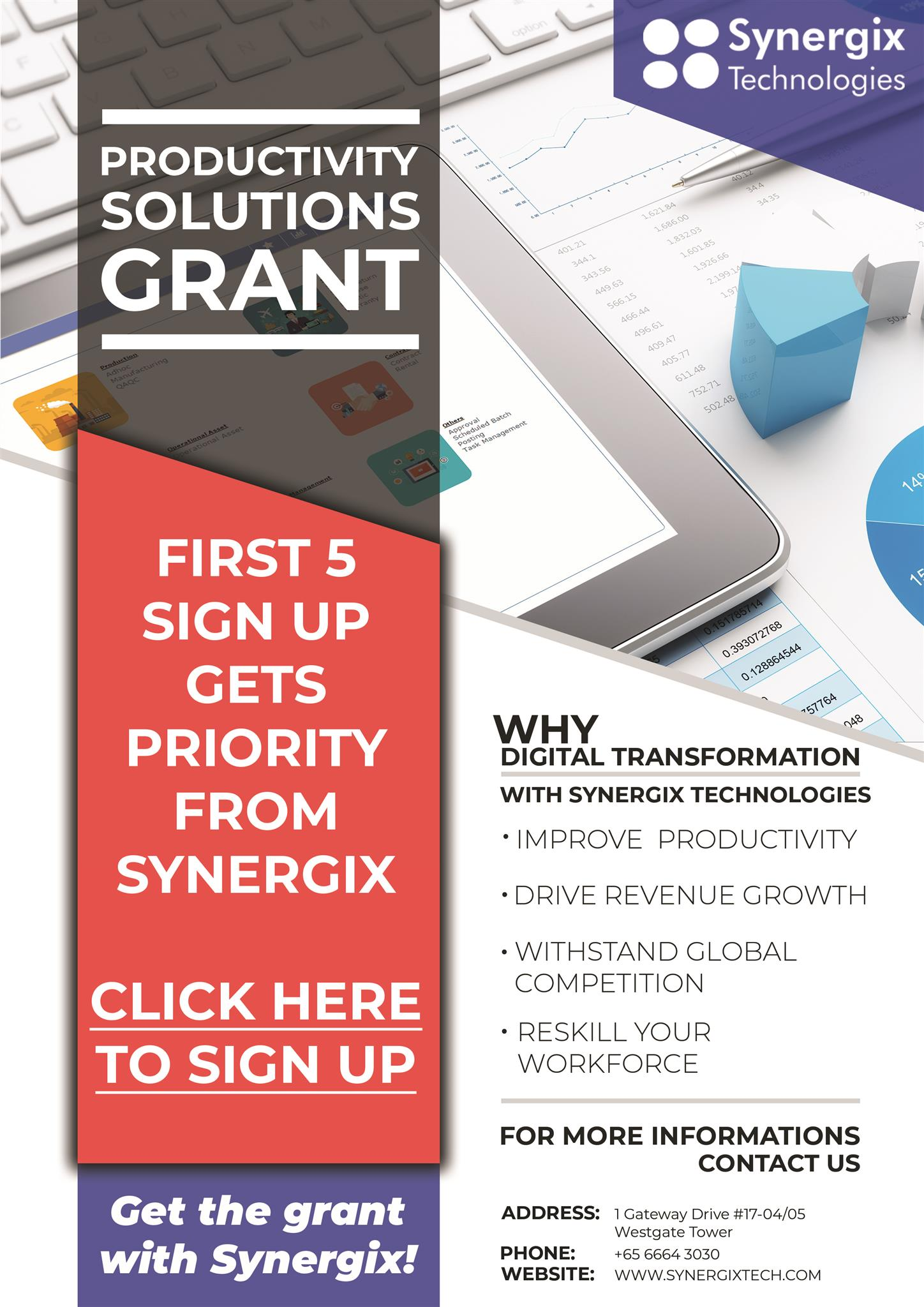 Grant EDM background 7 - Productivity Solutions Grant: Priority for first 5 Sign Ups!