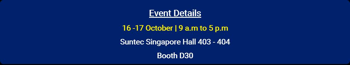 accounting show 2018 - synergix e1 erp system - Suntec Singapore