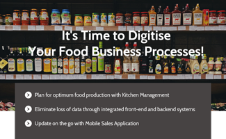 It's time to digitise your food business processes with Synergix E1 ERP System!
