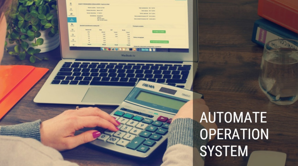 ERP System - Automate operation system