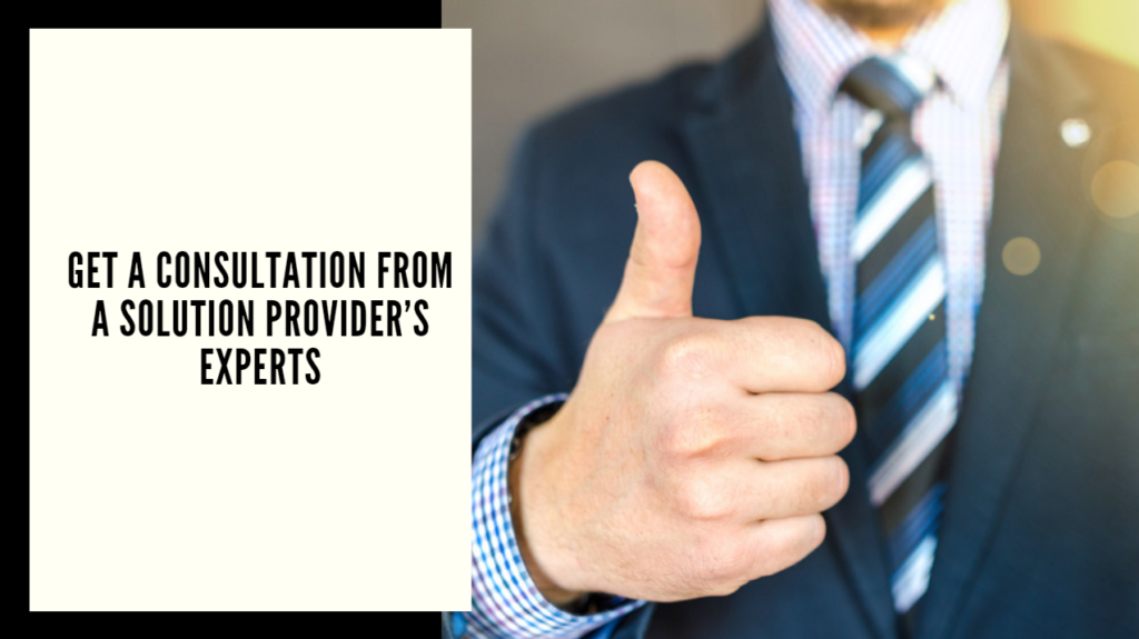 Productivity Solutions Grant - Get a consultation from a solution provider's experts