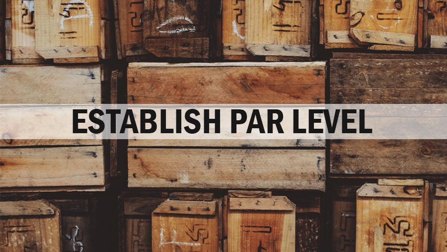 ERP System - Establish Par Level
