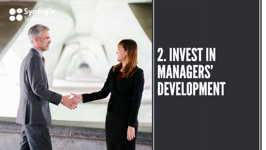 Invest in managers development 1024x577 - How To Prepare Your Staff For Digital Transformation?