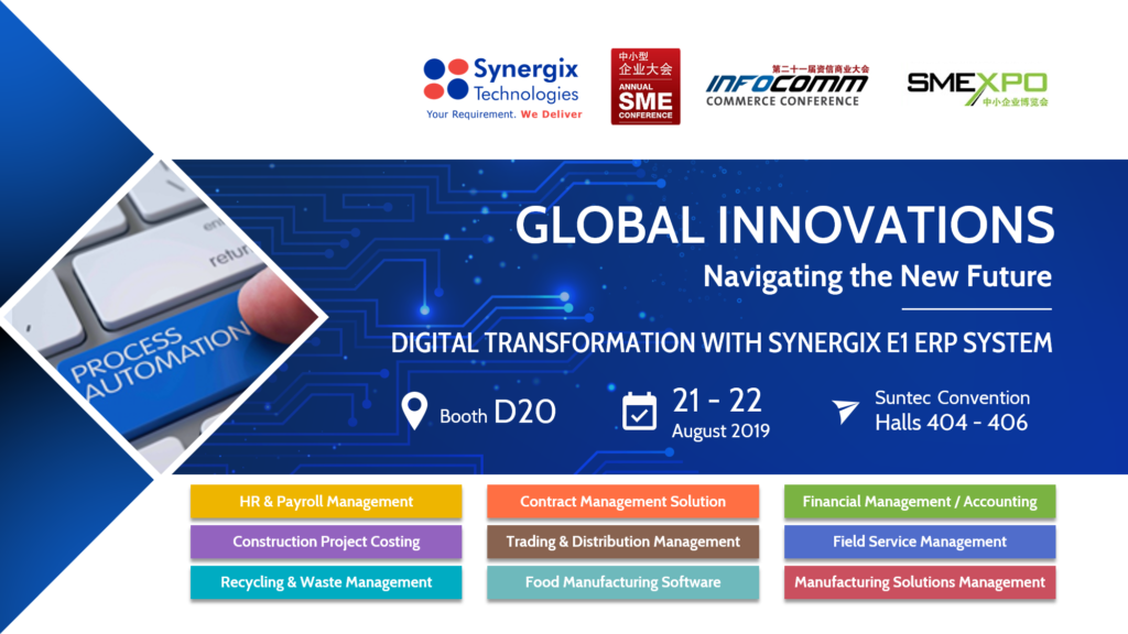 SME Expo 2019 at Suntec Singapore