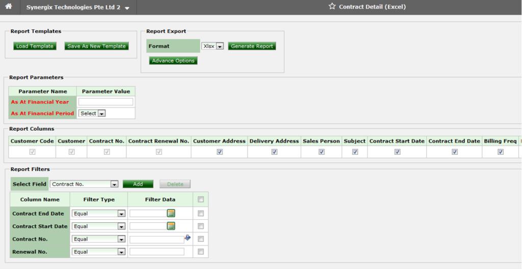 Screenshot 1 1024x529 - Synergix E1 ERP System Updates | September 2019