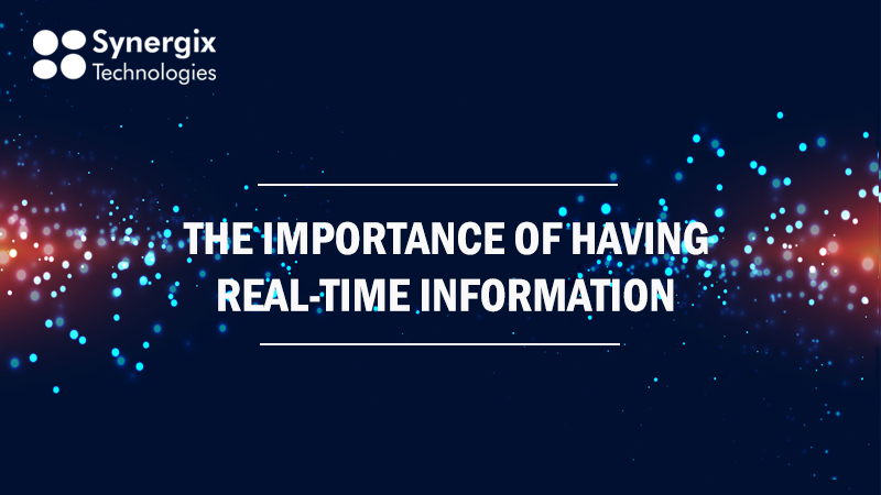 real time bannerblog - The Importance of Having Real-Time Information for Your Business