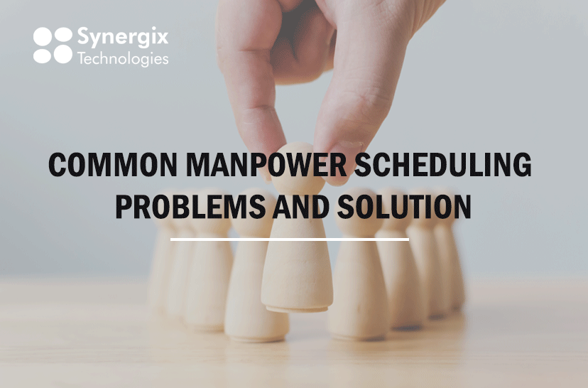 ERP system_Common Manpower Scheduling Problems and Solutions