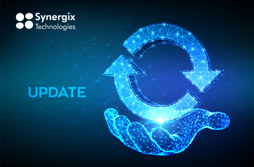 Synergix Erp System Update | November 2019
