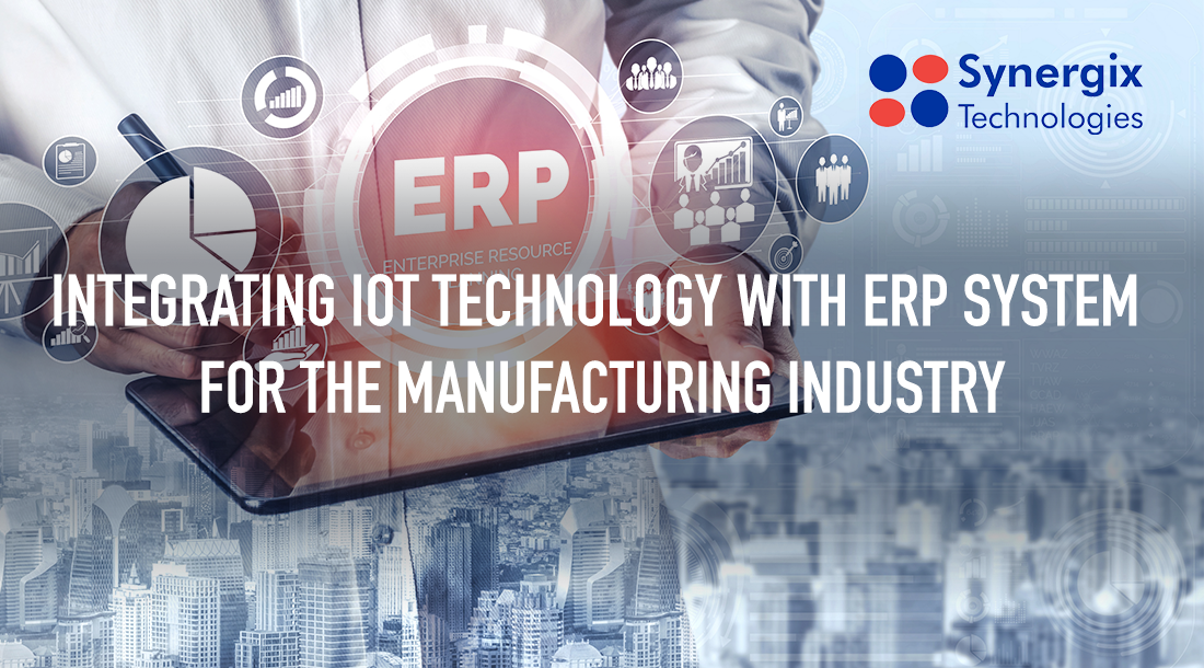 IoT banner - Integrating IoT Technology with ERP System for The Manufacturing Industry