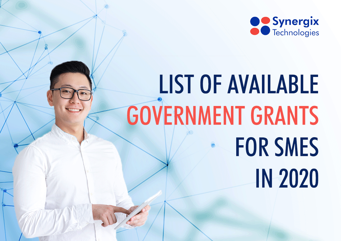Government Grant - List of Available Government Grants for SMEs in 2020