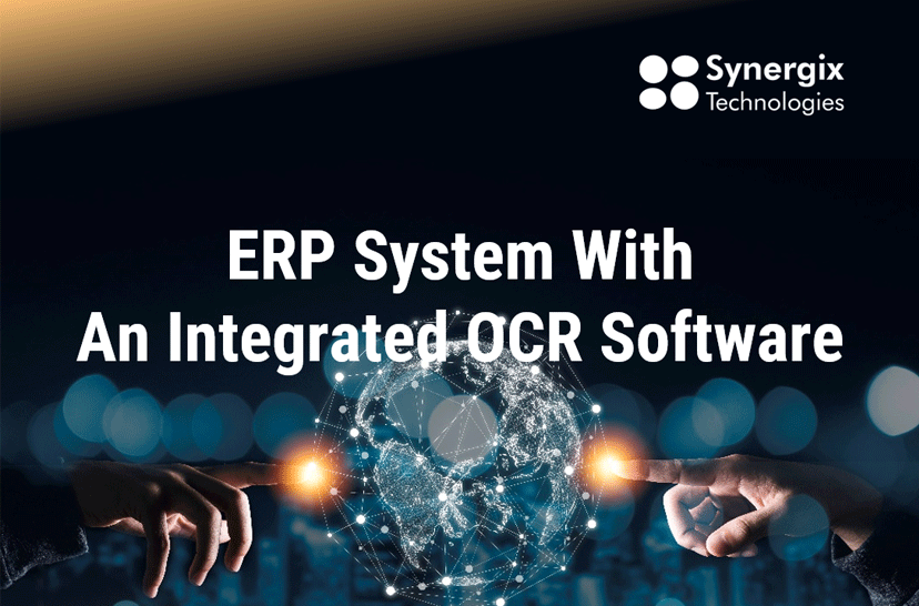ERP System With An Integrated OCR Software