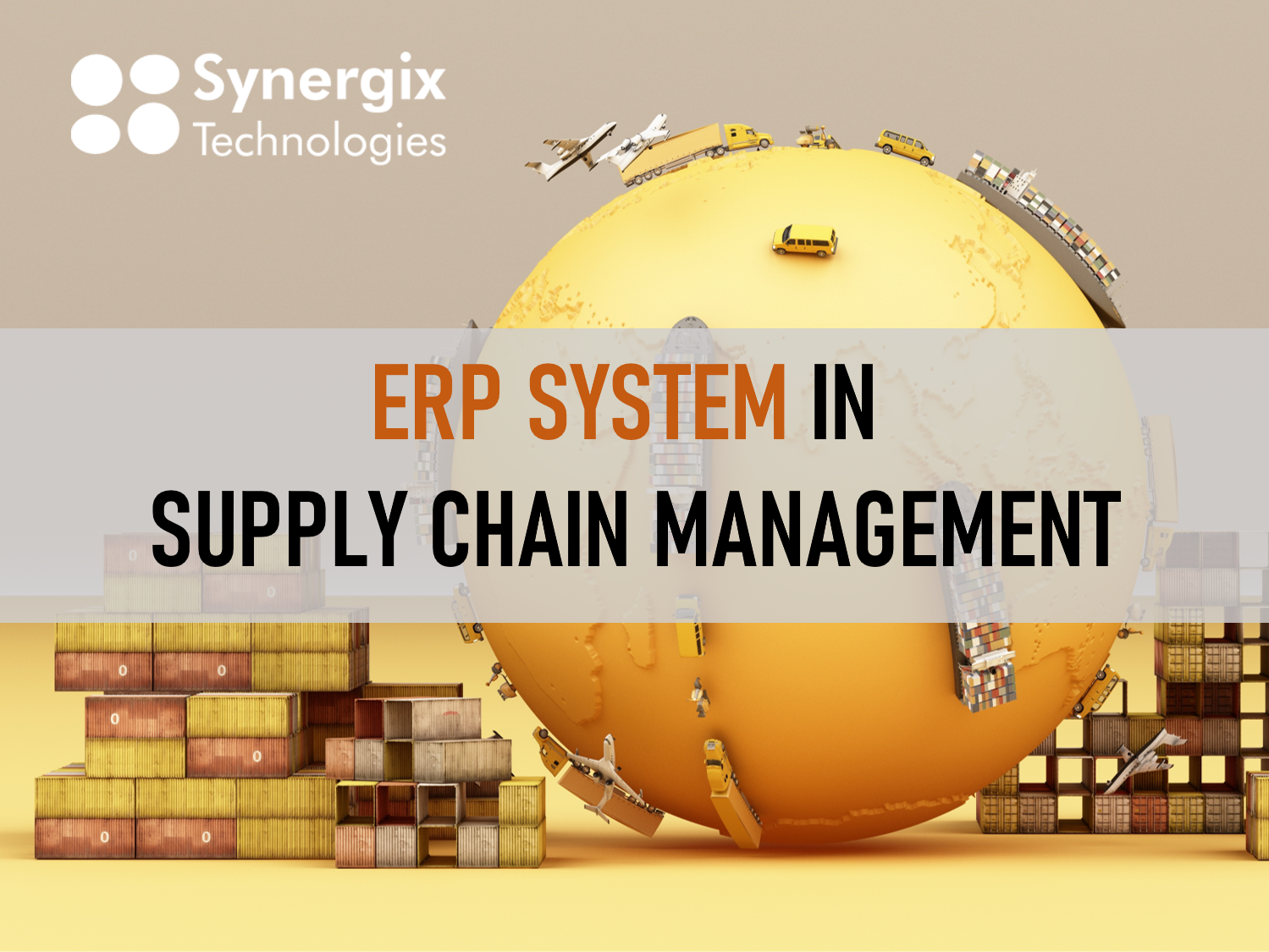ERP System in Supply Chain Management