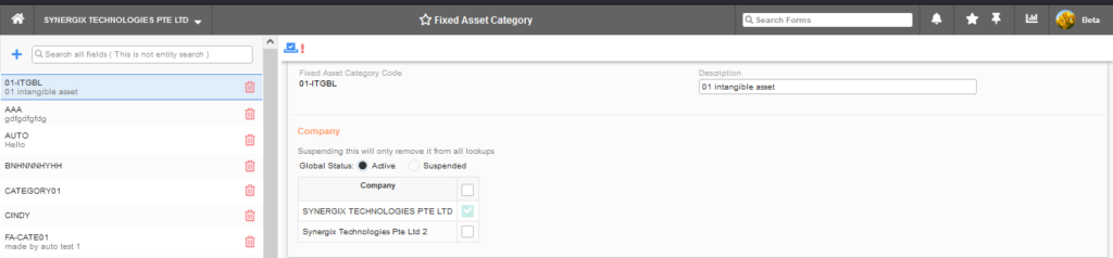 Fixed Asset Category 1024x238 - Synergix ERP Software Updates - August 2021