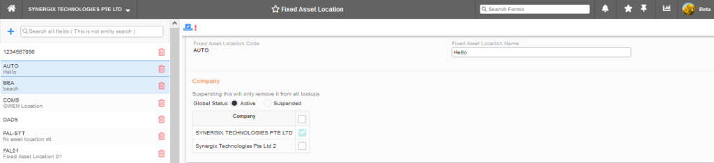 Fixed Asset Location 1024x234 - Synergix ERP Software Updates - August 2021