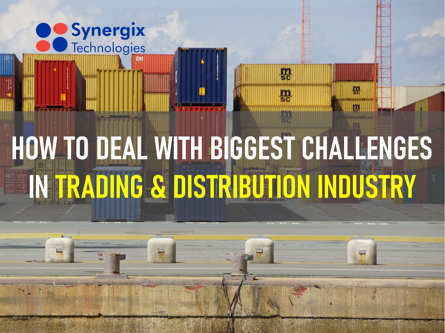 Common Challenges in Trading & Distribution Industry