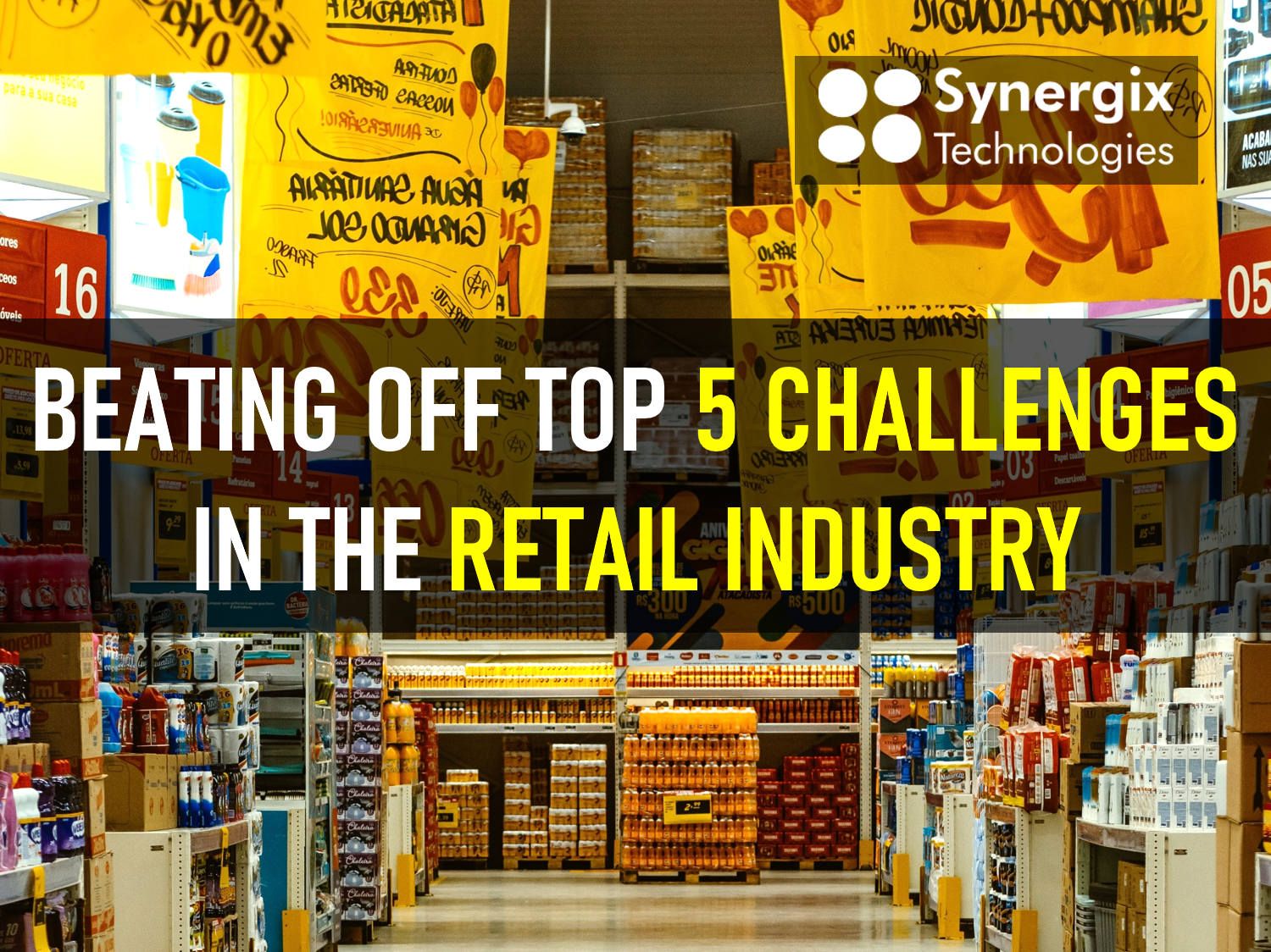 Beating off top 5 challenges in the retail industry